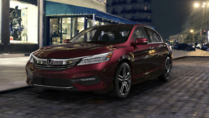 Honda Accord Sport 2016 3 years left. 0% interests