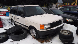 Parting out 1997 Range Rover