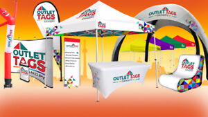 custom tents , table cover and flags , auto shelter