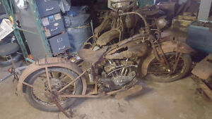 **1930 Indian 101  BARN FIND