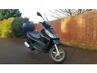 Piaggio x7 2009 12 months MOT learner legal motorbike scooter moped x8 x9 x10 gilera runner nexus