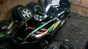 1999 Arctic Cat zl 600 trade for dirt bike