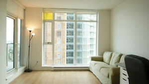 AMAZING VIEW - UNFURNISHED 1 BEDROOM APARTMENT METROTOWN