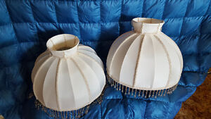 Table & Desk Lamps- set of handcrafted shades