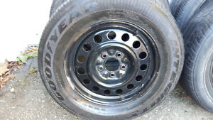 Gm Rims and tires 225/60/16 Kitchener / Waterloo Kitchener Area image 5