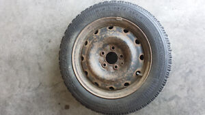 16 inch goodyear nordic winter tires and rims