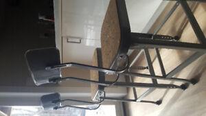 Modern industrial bar chairs / stool