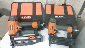 Ridgid Brad Nailers (Air operated)