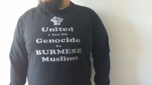 """United 2 End The Genocide On Burmese Muslims"""" Shirts and hoodies"""