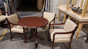 Cherry Dining Set- Table & 3 Chairs