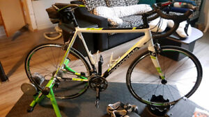 Cannondale CAAD10 58CM - Kurt Kinetic Road Machine