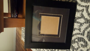 Black Wooden Picture Frame with Glass