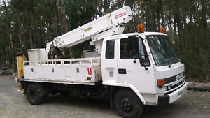Cherry picker Southbank Melbourne City Preview