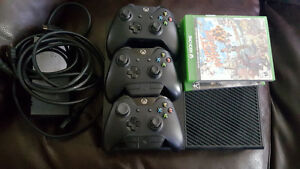X1 500gb 3 controllers 4 games Very good conditon