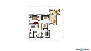 1200 Sq Ft Furnished 2 Bdrm, Newly Renovated, Quiet Central Area