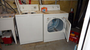 KENMORE WASHER & DRYER   NEEDS TO GO BEST OFFER