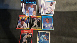 George Brett MLB cards(19)