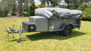 Camper's Delight Outback camping trailer Forth Central Coast Preview