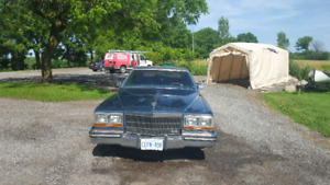 Cadillac for sale **no rust** open to trades for atv or snowmobl