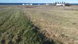Beautiful cleared land with ocean view outside of amherst ns