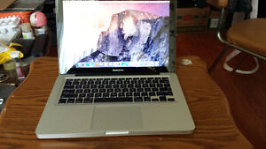 2009 Macbook Pro 13 with Intel Core 2 Duo Processor, Webcam and