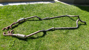 Mustang V6 4.0l exhaust double 2005-2007