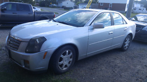 2003. Cadillac CTS; only 160 km.