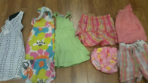 Girl's 18 mth and 18-24 mths clothes. $8