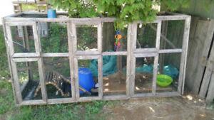 Grande cage extérieur ((non negociable ))