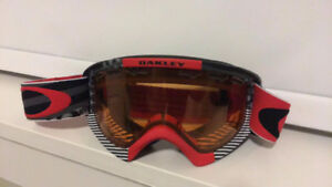 Oakley goggles - Red, White and Blue