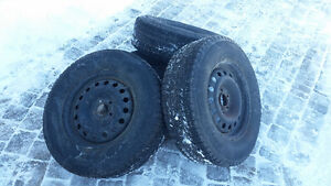 WINTER TIRES AND RIMS - 235/70 R16 - $250 or Best Offer