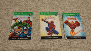 Marvel books  - level 1
