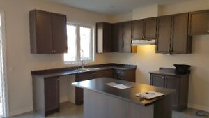 Oak Kitchen Cabinets with Countertops