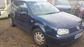 Breaking mk4 golf all parts available