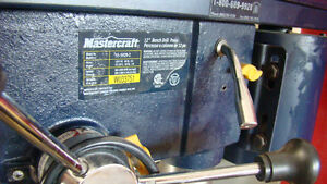 MASTERCRAFT BENCH DRILL PRESS Campbell River Comox Valley Area image 4