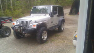 2004 jeep Rubicon
