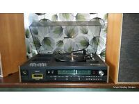 Restored /Serviced Vintage/Retro Waltham 1970s Record Player/ Cassette Deck/ Radio 6 mth guarantee