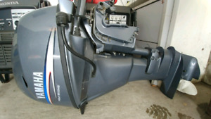 MINT CONDITION 20 HP ELECTRIC START YAMAHA OUTBOARD