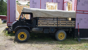 1962 Mercedes-Benz Other Unimog Pickup Truck
