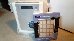 Air cleaner and filter