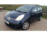 Nissan note 1.4 petrol good condition mot 30/Sep/2016