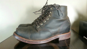 Chippewa for LL Bean Katahdin Iron Works Engineer Boots