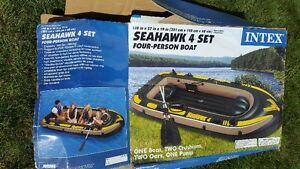 REDUCED AGAIN - Seahawk Four-Person Boat and all accessories
