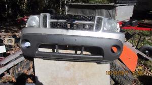2004 ford explorer sport trac front bumper ,grill,lights