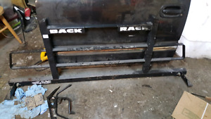Back rack for chevy truck