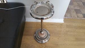 Vintage ashtray stand/ cendrier sur pied antique