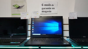 Laptop DELL i7 4 GB SSD 240 GB neuf 514-999-6996