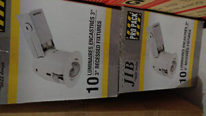 """3"""" White recessed ligths"""