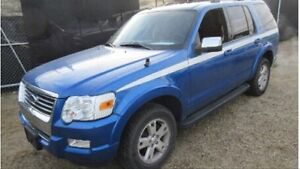 Incoming 2010 Ford Explorers XLT 87km
