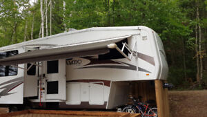 16 ft. Electric  Power Trailer Awning